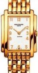 Patek Philippe Ladies Gondolo 18k. Yellow gold ladies. Watch preowned. 4824/1.