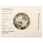 Moeda em prata 925, Três reais. Brasil 1997.