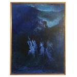 Manabu Mabe (1924-1997). Sem Título. Óleo sobre tela. Assinado, cie. Década de 1960. 100 x 75 cm. Está registrado no Instituto Manabu Mabe sob o número 2621.