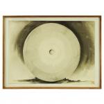 Tomoshige Kusuno (1935). Firmeza. Nanquim sobre papel. Assinado, cid. 1992. 70 x 96 cm.
