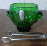 Balde de gelo Vintage, cristal de ICISA Barcelona  - Diâmetro: 10 cm e Altura: 14 cm