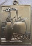 Medalha comemorativa Entregue no trânsito trecho Niteroi- Manilha, MT - DNER( BR 101)