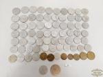 lote de mais de 50 moedas Brasileiras Diversas