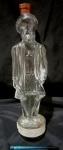 Garrafa de vinho do porto, produzida em vidrão representando Vasco da Gama, comemorativa do centenário do club de futebol Vasco da Gama, altura 38cm.
