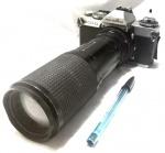 Máquina fotográfica de origem japonesa da marca Minolta, modelo XD11, maior comprimento 24cm, não testada.