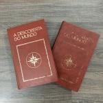 A DESCOBERTA DO MUNDO EM 2 VOLUMES -  Exemplares capa dura  publicado na década de 70 pela editora Abril Cultural. Exemplares em excelente estado.