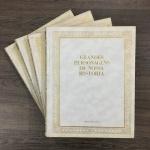 GRANDES PERSONAGENS DA NOSSA HISTÓRIA - Coleção completa com 4 livros capa dura com inscrição em dourado, publicados na década de 70 pela editora Abril Cultural. Exemplares rico em textos e imagens. Excelente estado.