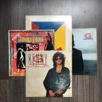 Parte de coleção com 4 discos de Vinil internacionais. Presença de sinais de uso.