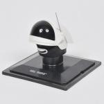 COLECIONISMO - STAR WARS - Miniatura de capacete de coleção francês da famosa série guerra nas estrelas em material sintético finamente policromado retratando Rebel Trooper. Med: 7 x 5cm