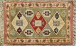 Tapete Turco Antika medindo: 1,57 x 1,20m (Apresenta Certificado de Origem)