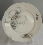 Prato  decorativo em porcelana francesa  Diâmetro:  24 cm