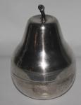 Porta treco em metal formato de pera - Altura: 16 cm