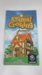 Manual para Console Videogame Nintendo Game Cube Animal Crossing Original em Excelente Estado de Conservação