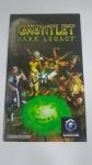 Manual para Console Videogame Nintendo Game Cube Original em Excelente Estado de Conservação Gauntlet Dark Legacy