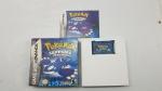 Jogo Cartucho para Nintendo Game Boy Advanced Pokémon Shapphire Version - completo testado e funcionando. ( indicamos a retirada em nossa loja, caso solicite envio pelo correio ou transportadora não garantimos o funcionamento do mesmo )