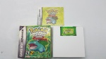 Jogo Cartucho para Nintendo Game Boy Advanced Pokémon Leaf Green - completo testado e funcionando. ( indicamos a retirada em nossa loja, caso solicite envio pelo correio ou transportadora não garantimos o funcionamento do mesmo )