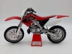 Colecionismo. Miniaturas. Motocicleta Honda CR 250R. Mede 17,5cm de comprimento.