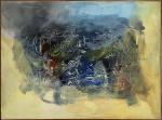 CAMILO, Abstrato - acrílica sobre tela - 110x150 cm - acid