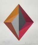 PAULA KADUNC, Geométrico - serigrafia 71/100 - 35x30 cm - acid