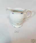 Wasvel  porcelaine -Leiteira  fina Porcelana Polonesa Wasvel   decoração em alto relevo e rica  policromia floral.Medida: 10,5 cm altura x 11 cm diâmetro