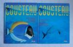 LIVROS - A grande Aventura de Cousteau. Total de 2 livros.