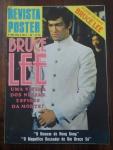 Revista Poster de Kung Fu - Bruce Lee uma vítima dos ninjas espiões da morte? - Poster aberto med. 90 x 60cm