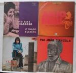 DISCO DE VINIL - Lote com 4 LP antigo.