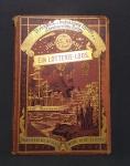 Livro Alemão de 1888 Ein lotterie Loos - com Julius Verme com 39 ilustrações desenhadas a mão. Capa dura. Contém 192 páginas. (Ouro pesquisar).