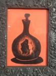 AM071, E. DI CAVALCANTI, reprodução serigrafica, década de 60, representando figura, medindo 12 x 17