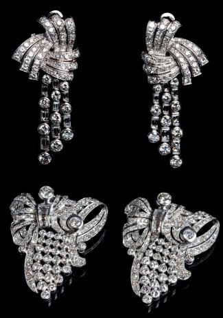 Leilão de Joias Antigas e Diamantes