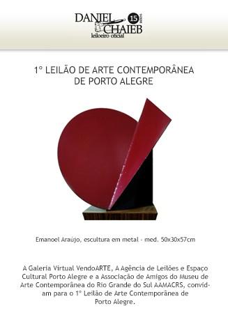 1º Leilão de Arte Contemporânea de Porto Alegre