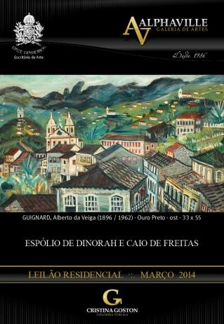 LEILÃO ESPÓLIO DE DINORAH E CAIO DE FREITAS