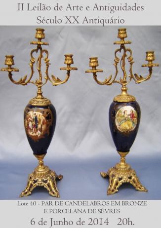 2º Leilão de Arte e Antiguidades - Século XX Antiquário