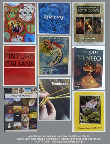 Leilão de Livros de Arte - Fibra Leilões - Junho 2014