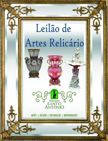 LEILÃO RELICÁRIO SANTO ANTÔNIO