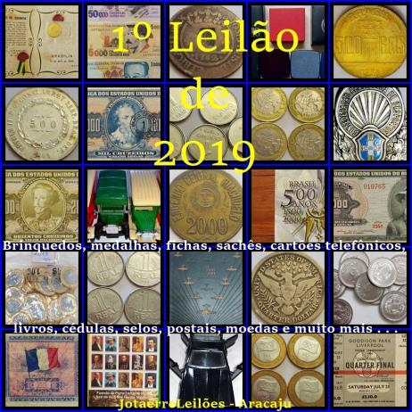 1º JOTAERRELEILÕES DE COLECIONISMO DO ANO 2019