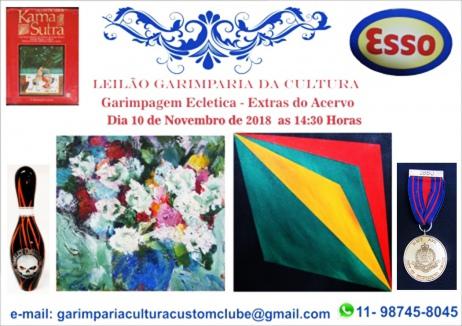 Leilão Garimpagem Eclética - Extras do Acervo