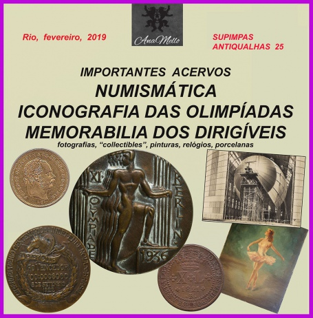 Leilão SUPIMPAS ANTIQUALHAS 25 arte, numismática, antiguidades & collectibles