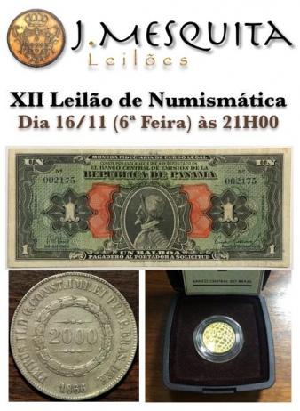 XII Leilão de Numismática