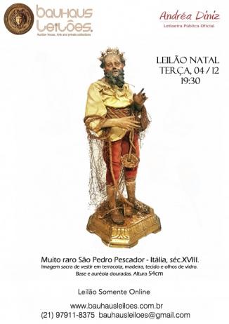 LEILÃO DEZEMBRO - LEMBRANÇAS DE NATAL - Antiguidades, Jóias, bijoux, Decor - Acervo de residências