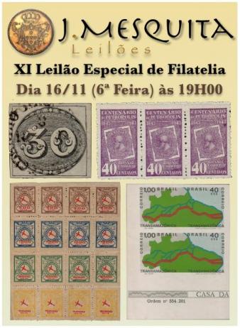 XI Leilão Especial de Filatelia
