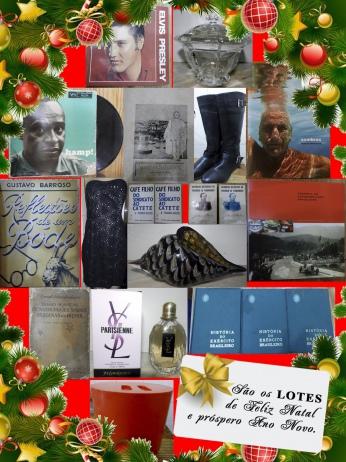 LEILÃO BATA-ME O MARTELO - São os LOTES de Feliz Natal  e próspero Ano Novo