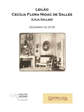Leilão Cecília Flora Nioac de Salles (Lilia Salles)