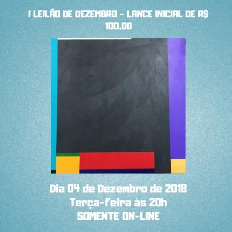 I LEILÃO DE DEZEMBRO - LANCES INICIAL DE R$ 100,00