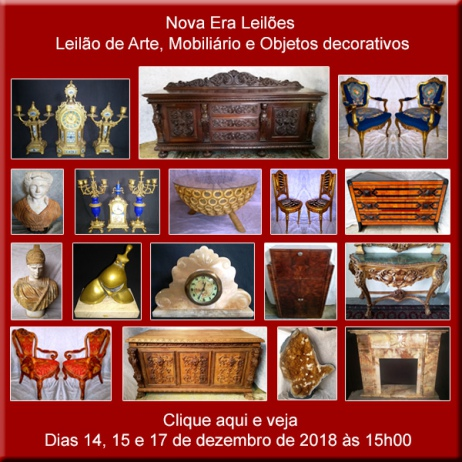 ULTIMO LEILÃO DE 2018 (NOVA ERA) OPORTUNIDADE E BONS NEGÓCIOS - 14, 15 e 17/12/2018