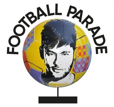 1º LEILÃO DE BOLAS-ESCULTURAS FOOTBALL PARADE