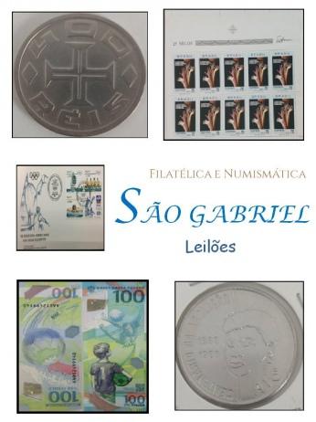 18º  LEILÃO SÃO GABRIEL DE SELOS, MOEDAS E CEDULAS: PRESENTEI QUEM VOCÊ GOSTA NESTE NATAL!