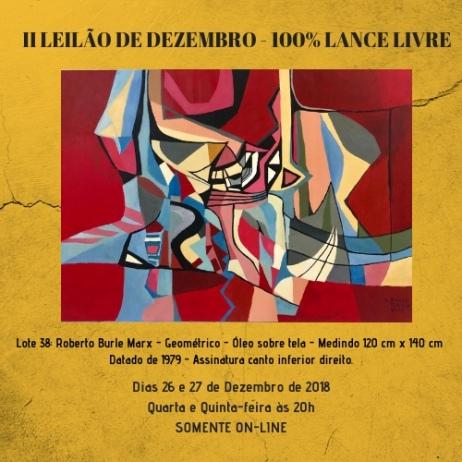 II LEILÃO DE DEZEMBRO - 100% LANCE LIVRE