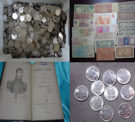 Numismática, livros e Colecionismo