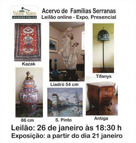LEILÃO RESIDENCIAL - FAMÍLIAS SERRANAS RJ